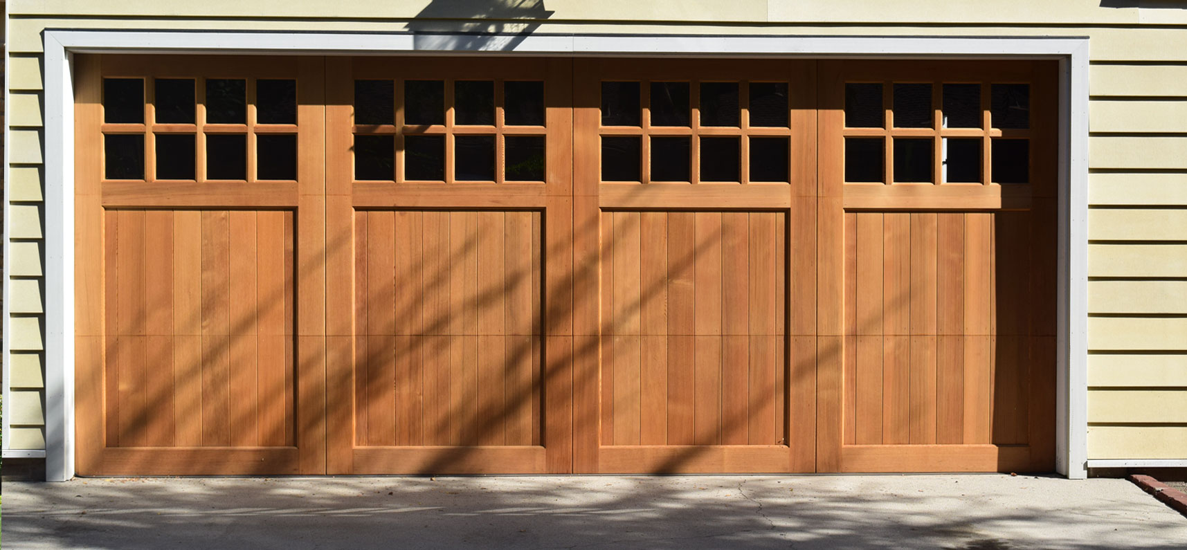 Full-Custom Garage Doors by Elegant