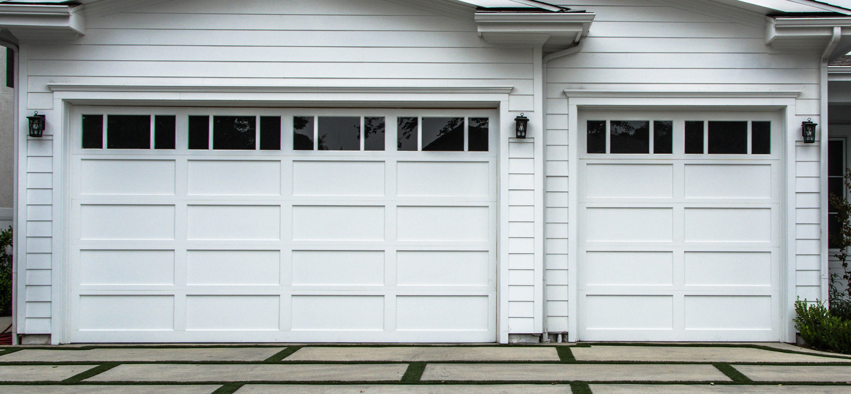 Semi-Custom Garage Doors